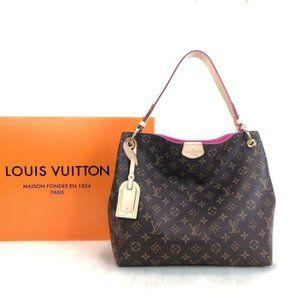 Best Louis Vuitton Graceful Pm Bag  30x30cm